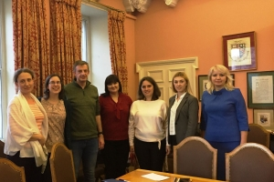 THE REPRESENTATIVES OF USPU STUDIED THE EXPERIENCE OF EDUCATION INTERNATIONALIZATION AT EDINBURGH UNIVERSITY 