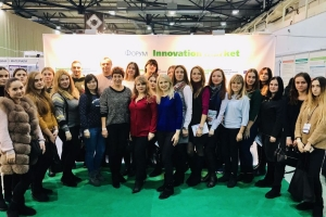 "TEACHERS AND STUDENTS OF EDUCATIONAL-SCIENTIFIC INSTITUTE OF ECONOMICS AND BUSINESS EDUCATION PARTICIPATED IN THE INTERNATIONAL FORUM ""INNOVATION MARKET"""