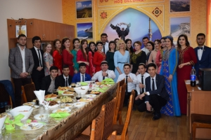 IN UKRAINIAN-TURKMEN CULTURAL CENTER CELEBRATED NOVRUZ BAYRAM