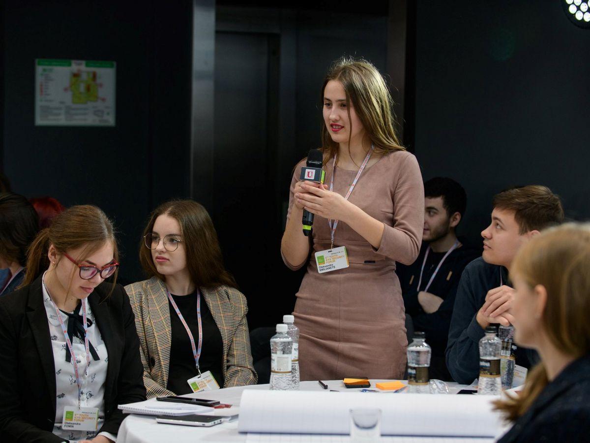 Студентка УДПУ – учасниця 8-го Київського Безпекового Форуму
